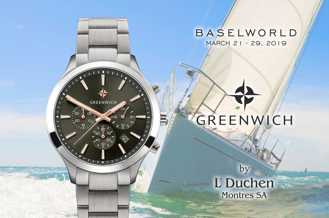 GREENWICH at the BASELWORLD 2019